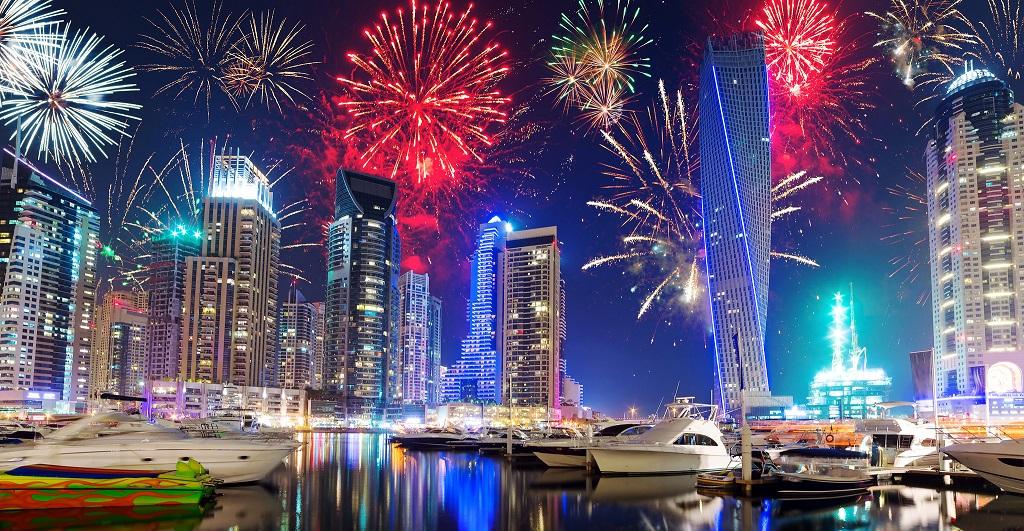 Capodanno a Dubai, spettacolo di luci - Sergio Alberti Real Estate