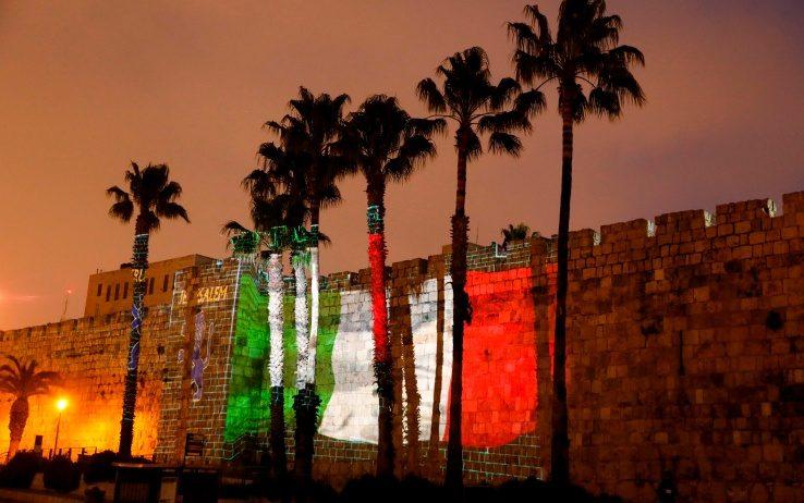 Gerusalemme Israele - Solidarietà per l'Italia - Coronavirus (Sergio Alberti)