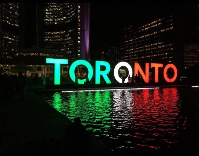 Toronto Canada - Solidarietà per l'Italia - Coronavirus (Sergio Alberti)