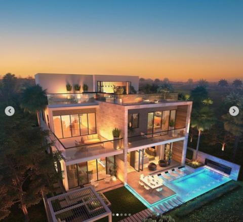 Le meravigliose Melrose Villas a Dubai in Damac Hills!